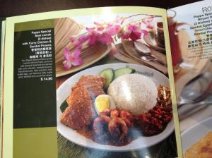 nasi lemak catalogue shot