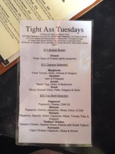 tight arse tuesdays at mooseheads