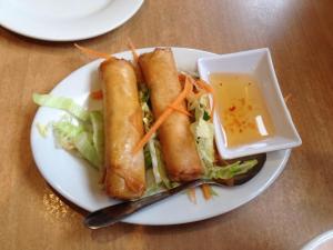 vege spring rolls