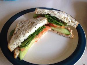 chilli tuna sandwich