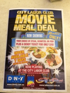 city labor club movie deal
