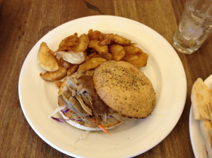 debacle pulled pork roll