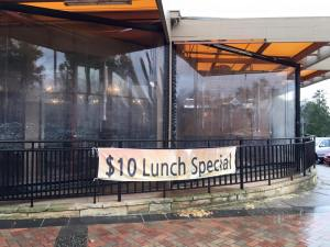 Tosung lunch special banner